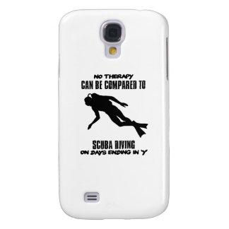 Capa Samsung Galaxy S4 esfrie e tendendo o DESIGN do mergulho autónomo