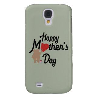 Capa Samsung Galaxy S4 Feliz dia das mães Zg6w3