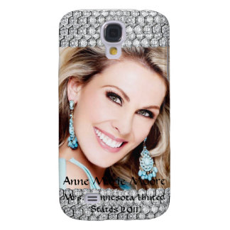 Capa Samsung Galaxy S4 Foto da representação histórica do diamante mim