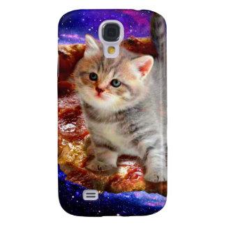 Capa Samsung Galaxy S4 gato da pizza - gatos bonitos - gatinho - gatinhos