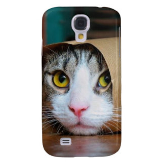 Capa Samsung Galaxy S4 Gato de papel - gatos engraçados - meme do gato -