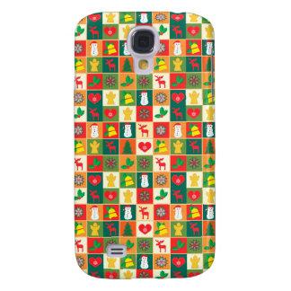 Capa Samsung Galaxy S4 Grande teste padrão do Natal