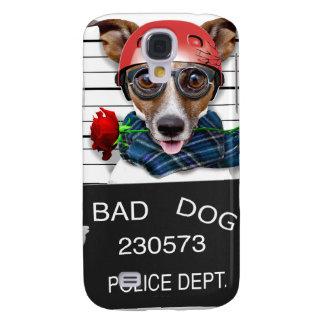 Capa Samsung Galaxy S4 Jaque engraçado russell, cão do Mugshot