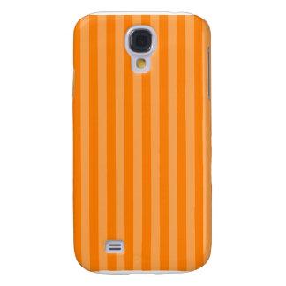 Capa Samsung Galaxy S4 Listras finas - alaranjadas e obscuridade -