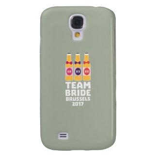 Capa Samsung Galaxy S4 Noiva Bruxelas da equipe 2017 Zfo9l