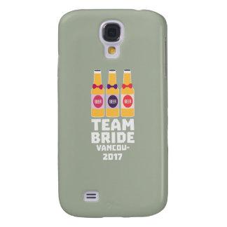 Capa Samsung Galaxy S4 Noiva Vancôver da equipe 2017 Z13n1