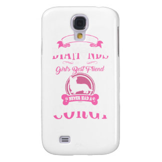 Capa Samsung Galaxy S4 Nunca teve uma camiseta de cão das mamães do Corgi