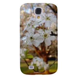 Capa Samsung Galaxy S4 O primavera da árvore floresce a caixa da galáxia