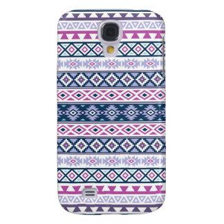 Capa Samsung Galaxy S4 O teste padrão estilizado asteca pica os azuis dos