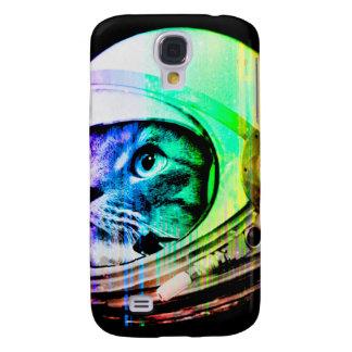 Capa Samsung Galaxy S4 os gatos coloridos - astronauta do gato - espaçam