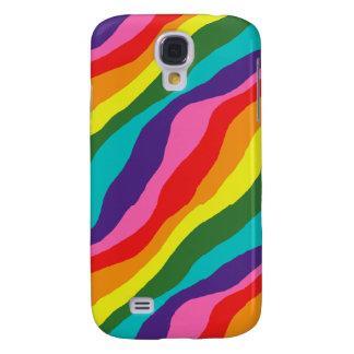 Capa Samsung Galaxy S4 Padrões do arco-íris