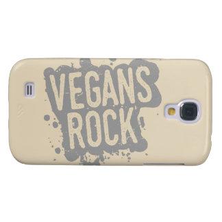 Capa Samsung Galaxy S4 Pinte a ROCHA dos VEGANS do Splatter (gry)