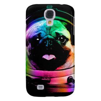 Capa Samsung Galaxy S4 Pug do astronauta - pug da galáxia - espaço do pug