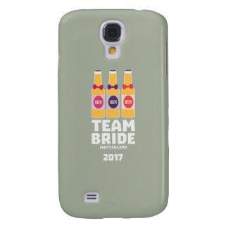 Capa Samsung Galaxy S4 Suiça da noiva da equipe 2017 Ztd9s