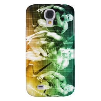 Capa Samsung Galaxy S4 Tecnologia avançada como ELE fundo do conceito