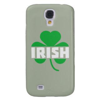 Capa Samsung Galaxy S4 Trevo irlandês Z2n9r do cloverleaf