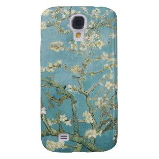 Capa Samsung Galaxy S4 Vincent van Gogh, flores da amêndoa