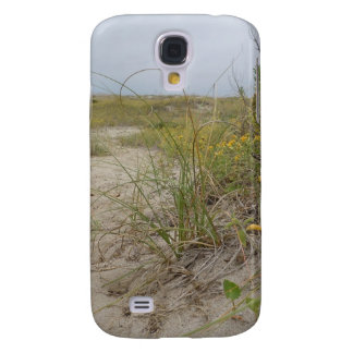 Capa Samsung Galaxy S4 Wildflowers do outono da praia
