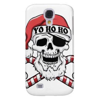 Capa Samsung Galaxy S4 Yo ho ho - papai noel do pirata - Papai Noel