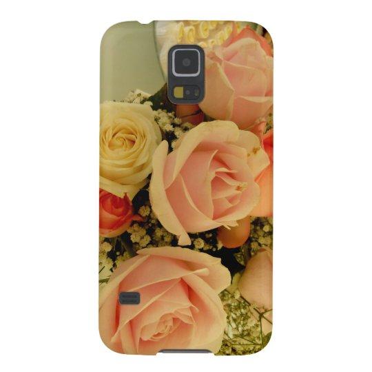 Capa Samsung Galaxy S5 estilo floral rosas