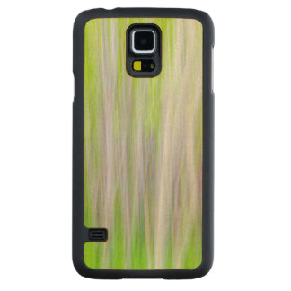Capa Slim De Bordo Para Galaxy S5 Abstrato da fuga do rio das árvores | Yakima de