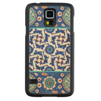 Capa Slim De Bordo Para Galaxy S5 azulejo do iznik