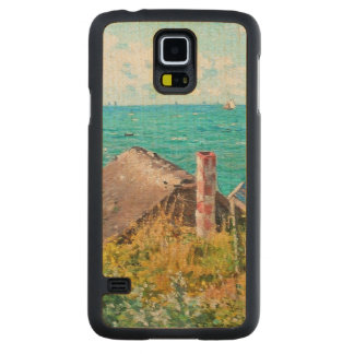 Capa Slim De Bordo Para Galaxy S5 Claude Monet a cabine em belas artes do
