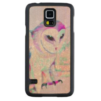 Capa Slim De Bordo Para Galaxy S5 Coruja majestosa