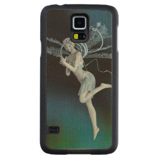Capa Slim De Bordo Para Galaxy S5 Fada do inverno
