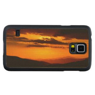 Capa Slim De Bordo Para Galaxy S5 Foto bonita do por do sol