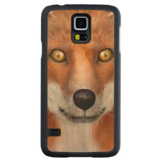 Capa Slim De Bordo Para Galaxy S5 Fox vermelho