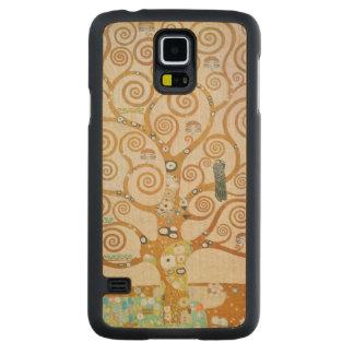 Capa Slim De Bordo Para Galaxy S5 Gustavo Klimt a árvore da arte Nouveau da vida