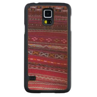 Capa Slim De Bordo Para Galaxy S5 Padrões do travesseiro de matéria têxtil