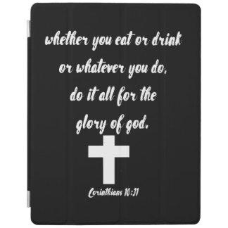 Capa Smart Para iPad 10:31 dos Corinthians