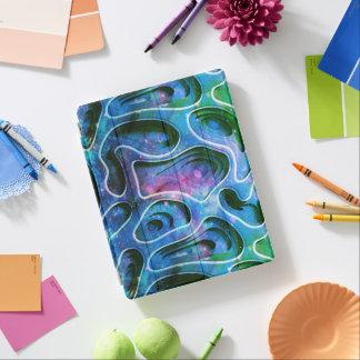 Capa Smart Para iPad 3D fundo abstrato colorido legal original No2