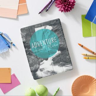 Capa Smart Para iPad A aventura dos rios   está para fora lá citações