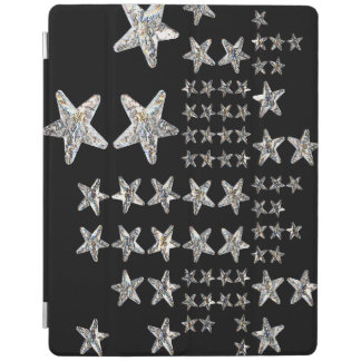 Capa Smart Para iPad A prata Stars o cobrir esperto do iPad