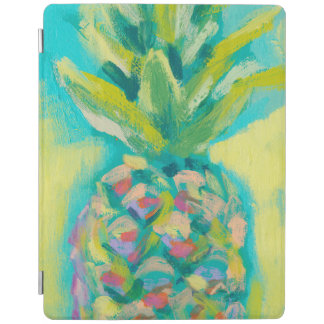 Capa Smart Para iPad Abacaxi tropical colorido
