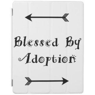 Capa Smart Para iPad Abençoado pela adopção - assistência social