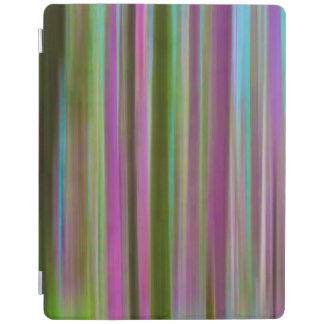 Capa Smart Para iPad Abstrato da floresta tropical de Hoh no crepúsculo