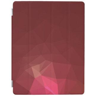 Capa Smart Para iPad Abstrato & design geométrico moderno - escarlate