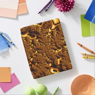 Capa Smart Para iPad Abstrato Trippy do pudim de chocolate da arte do