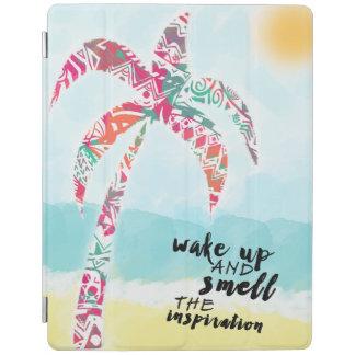 Capa Smart Para iPad acorde e cheire a inspiração, a praia e a palma