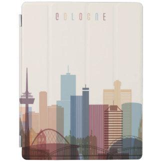 Capa Smart Para iPad Água de Colônia, skyline da cidade de Alemanha  