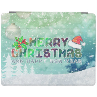 Capa Smart Para iPad Angra do iPad 2/3/4 do Feliz Natal e do feliz ano