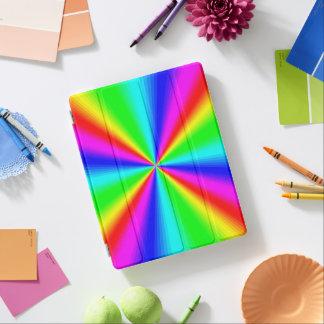 Capa Smart Para iPad Arco-íris brilhante colorido