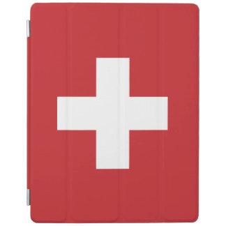 Capa Smart Para iPad Bandeira da suiça