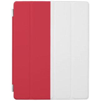 Capa Smart Para iPad Bandeira de Monaco