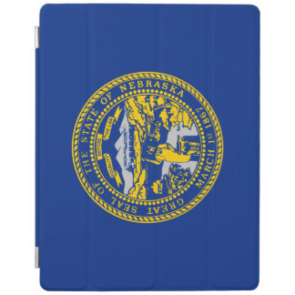 Capa Smart Para iPad Bandeira de Nebraska