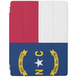Capa Smart Para iPad Bandeira de North Carolina